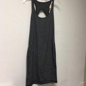 Lululemon grey tank dress sz 8 56746